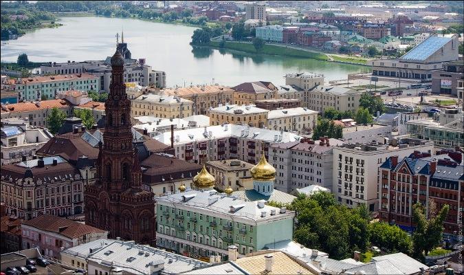 Колокольня Богоявленского собора - Фотография Казань