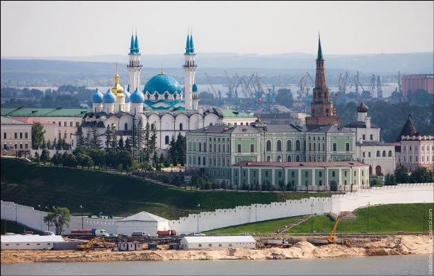 Кремль в казани фото с высоты
