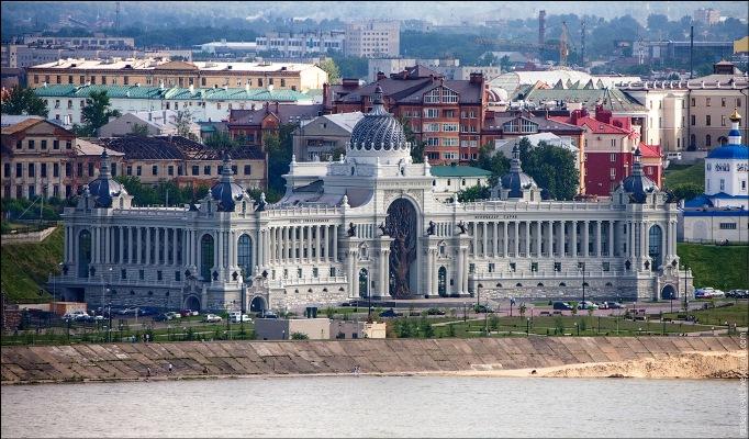 Высотная Казань фотография - Дворец Земледельцев
