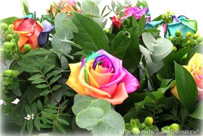 Радужные цветы 15