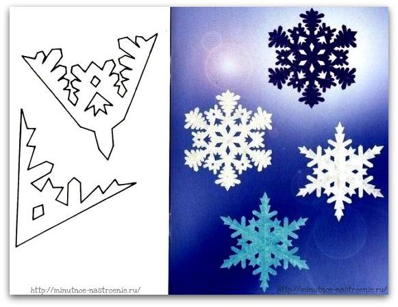Снежинки своими руками 2