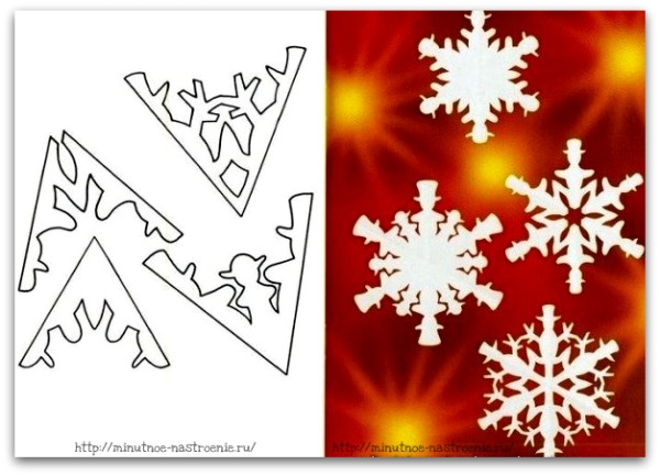 Снежинки своими руками 4