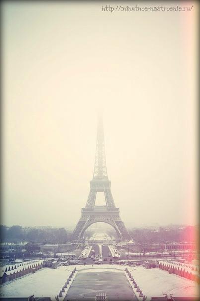 Нежная зима в Париже фото 1