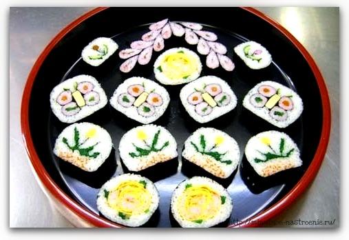 Оригинальные суши 2