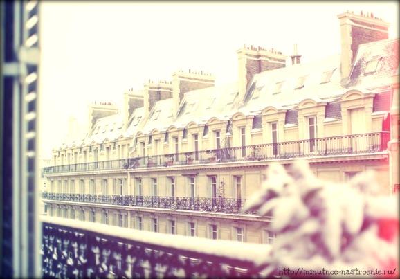 Нежная зима в Париже фото 7