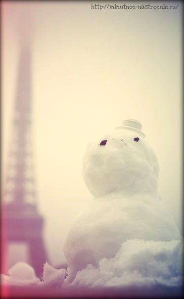 Нежная зима в Париже фото 10