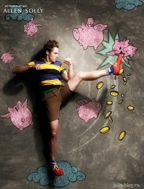 Фотографии Allen Solly борьба с поросятами