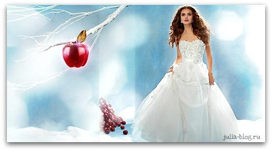 свадебное платье Белоснежки - фото
