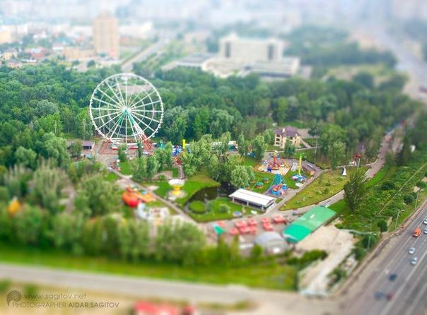 Игрушечная Казань фото парк Кырлай молодежный центр
