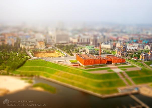 Игрушечная Казань фото НКЦ