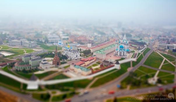 Игрушечная Казань фото Кремль