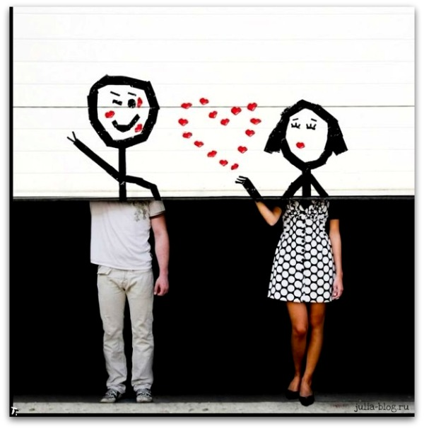 креативная картинка о любви  3