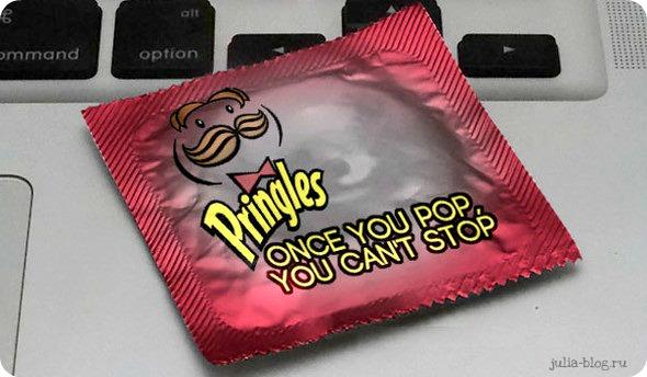 Презервативы известных брендов  - фото принглс - один раз попробовав, невозможно остановиться