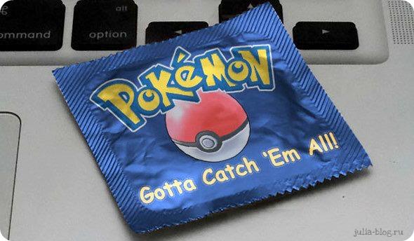 Презервативы известных брендов  покемон - фото