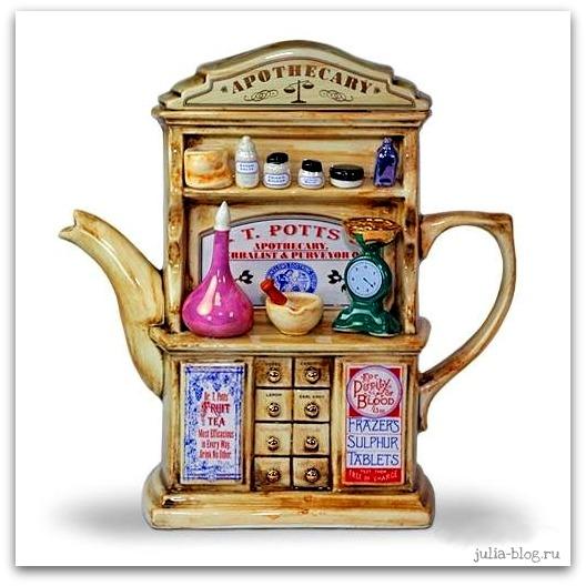 заварной чайник - винтажный буфет фото