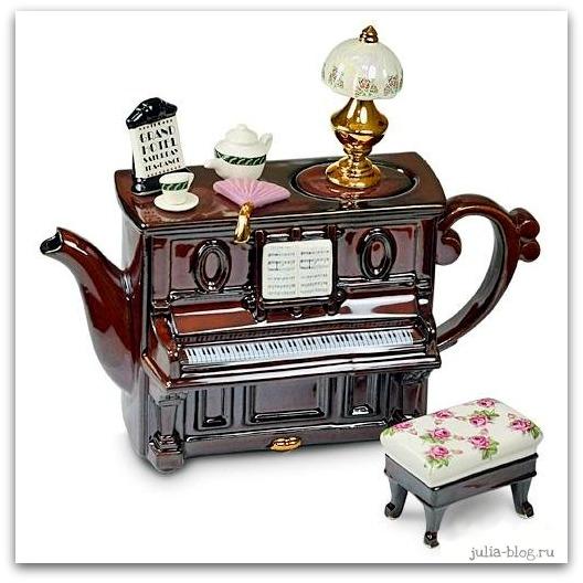 заварочный чайник пианино - фото
