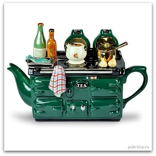 заварной чайник - плита фото