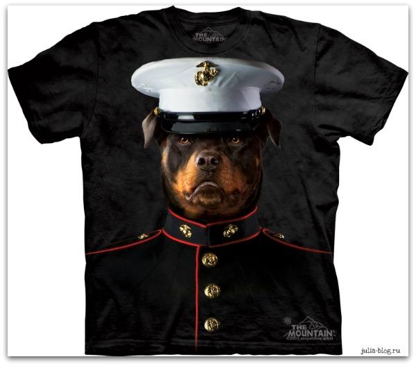 Звериные футболки часть 2 капитан  вмф