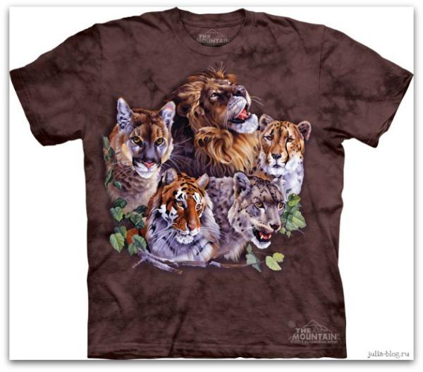 Звериные футболки часть 2 Big Five