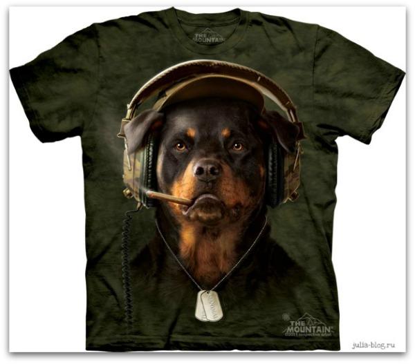 Звериные футболки часть 2 DJ Sarge