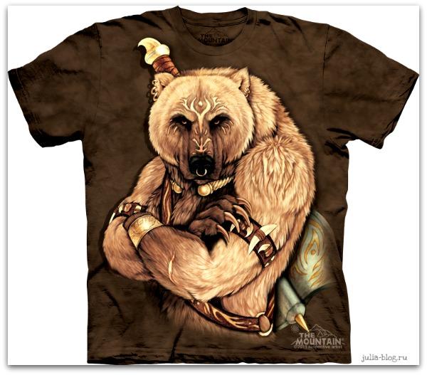 Звериные футболки часть 2 Tribal Bear