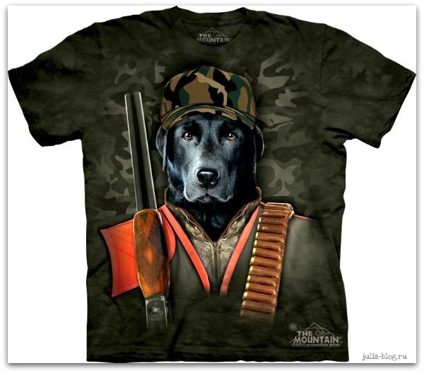 Звериные футболки часть 2
