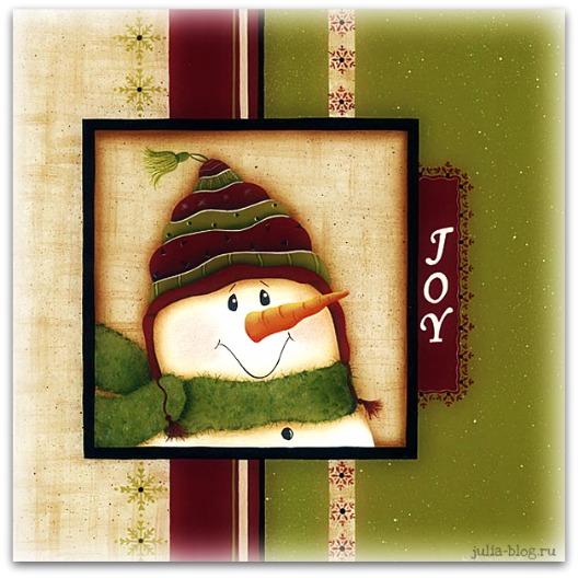 снеговики картинка
