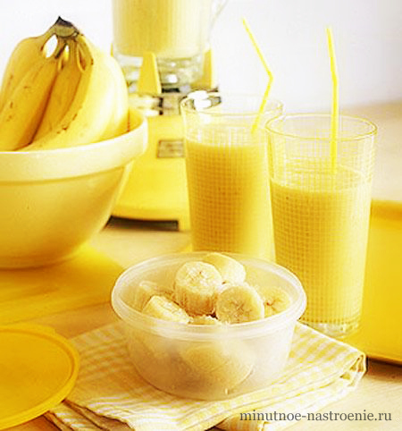 банановый коктейль рецепт