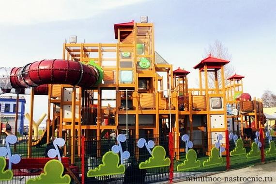 Парк Angry Birds Land  фото