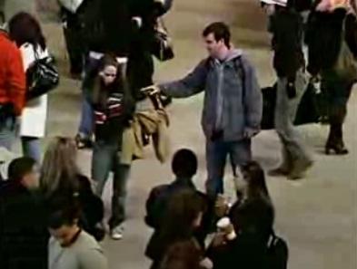 флэшмоб в нью йорке застывшие видео
