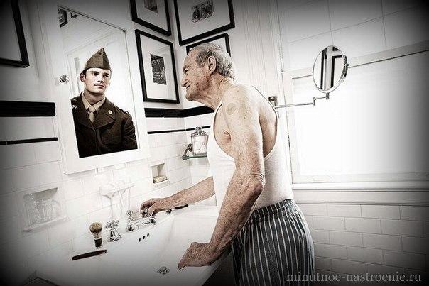 дедушка в прошлом солдат