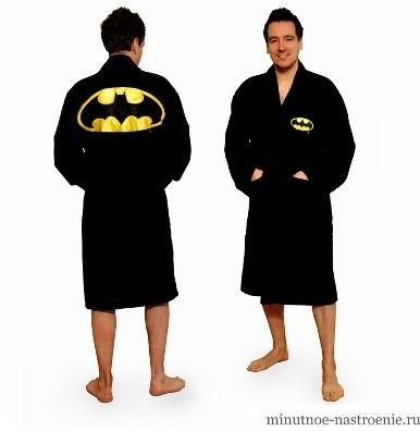 мужской халат бэтмен