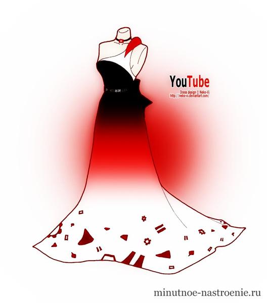 Выпускное платье YouTube