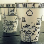 Kofejnye stakanchiki foto  8