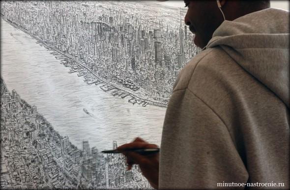 Стивен Вилтшер картина