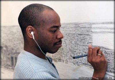 Стивен Вилтшер панорама нью йорка