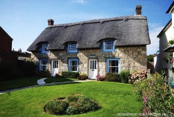 Сказочные домики в провиницальной Англии