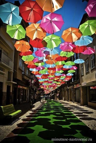 зонтики в небе