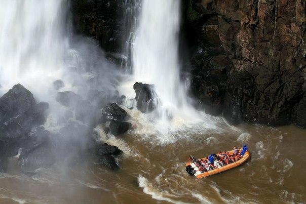 Путешествие к водопаду Игуасу в Бразилии (Аргентина)