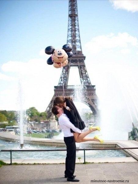 свадебное путешествие в париж фото