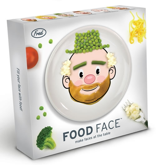 Веселые тарелочки Food Face
