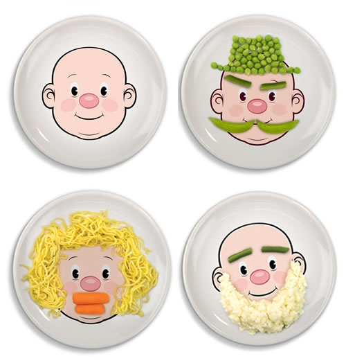 тарелки Food Face фото