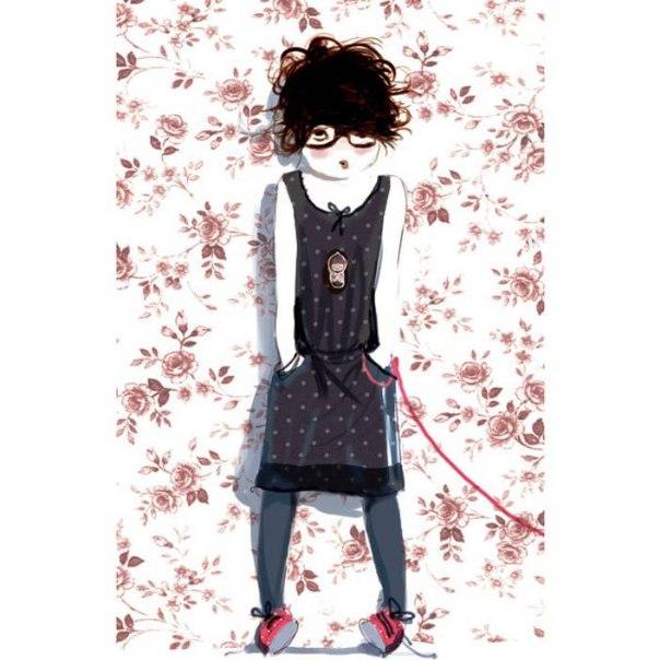 Французские иллюстрации Софи Гриотто