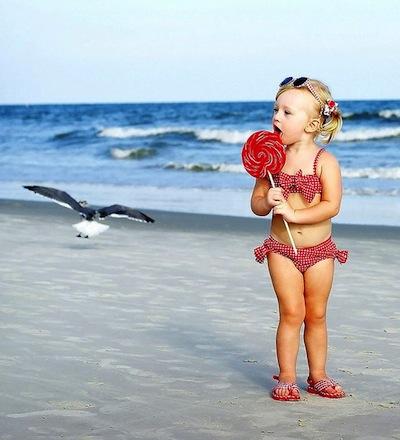 На море с ребенком: что взять фото