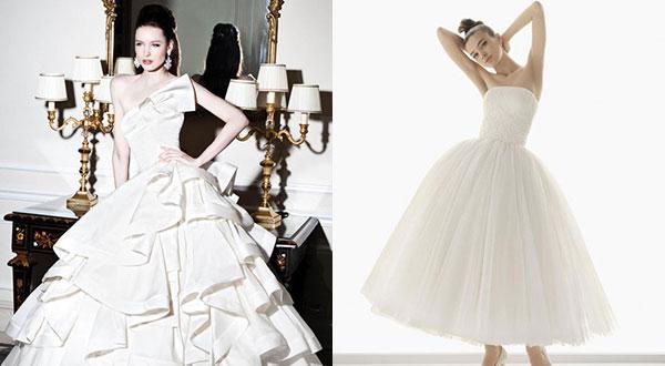 свадебное платье и тип фигуры прямоугольник фото
