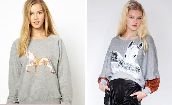свитера с лошадками фото