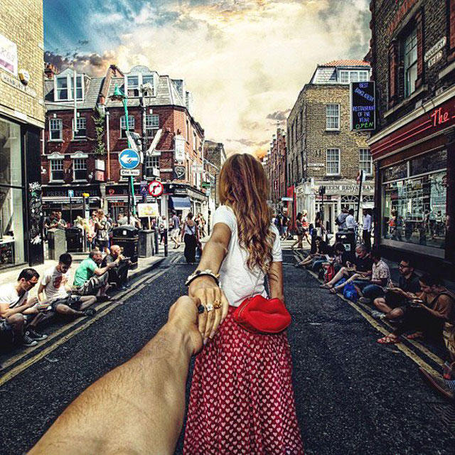 На Брик Лейн в Лондоне