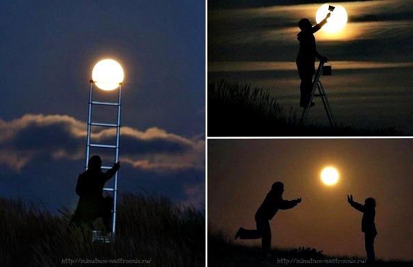 Игры с луной 9