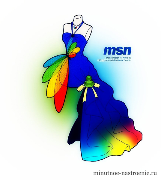 Выпускное платье MSN