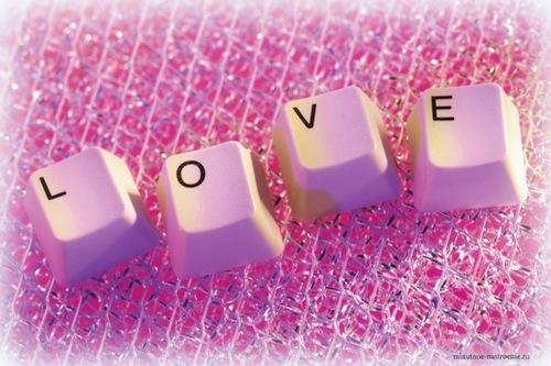 клавиатура love